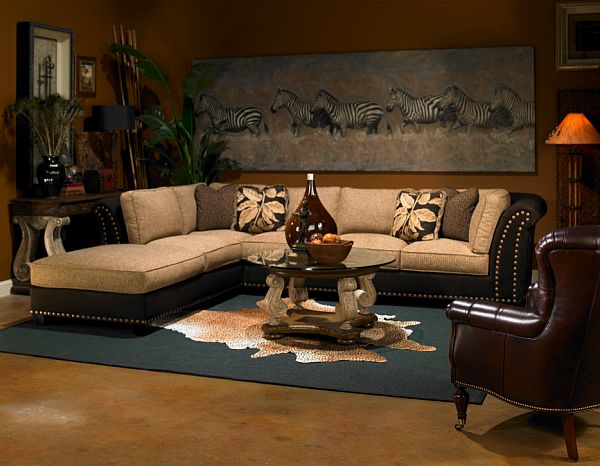 decorating with a safari theme 16 wild ideas On safari living room ideas