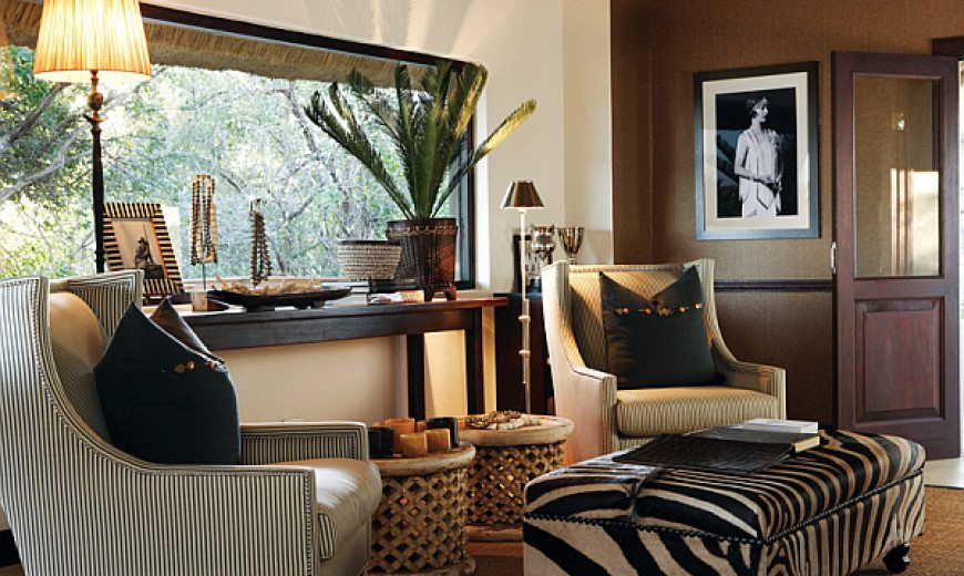 decorating with a safari theme 16 wild ideas rh decoist com safari style living room ideas safari themed living room decor