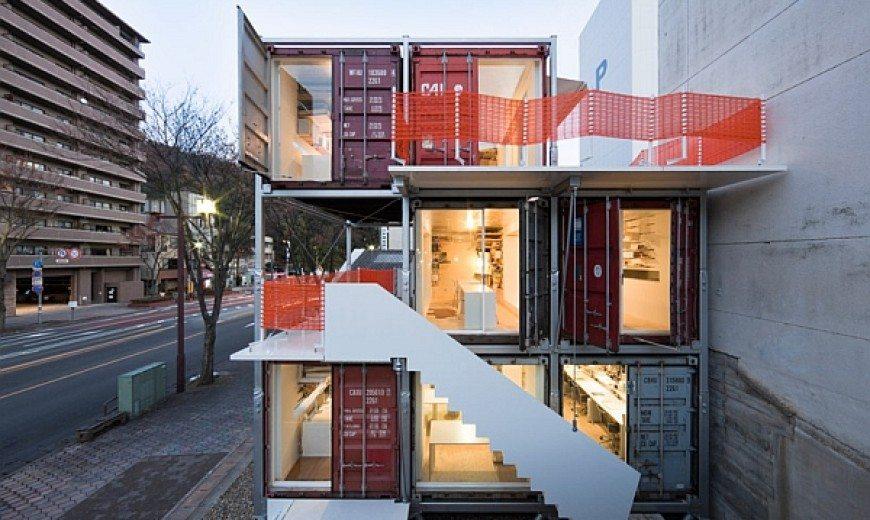 shipping container studio - sugoroku 1