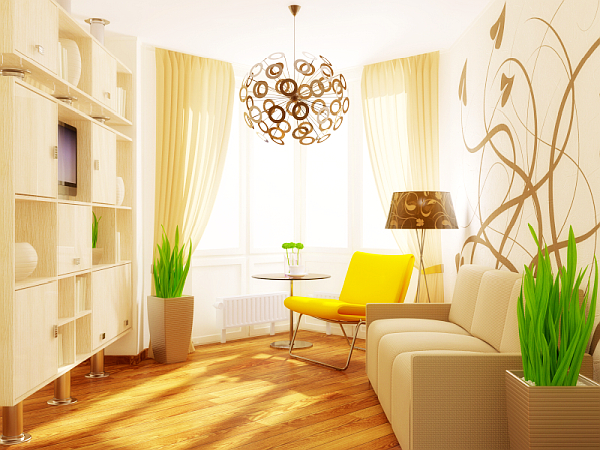 Tips to make your small living room prettier for Small apartment living room interior design