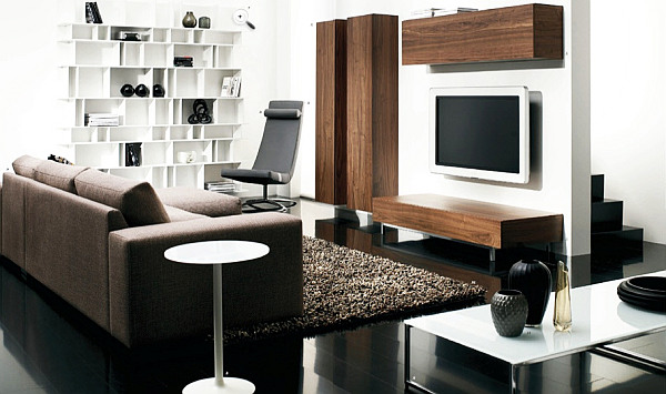Tips to make your small living room prettier Compact living room furniture designs