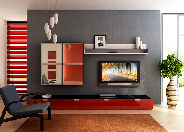 Tips to make your small living room prettier - Furniture design for small living room ...
