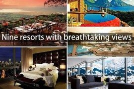 Lookout From the Top: Resorts With Breathtaking and Exotic Views