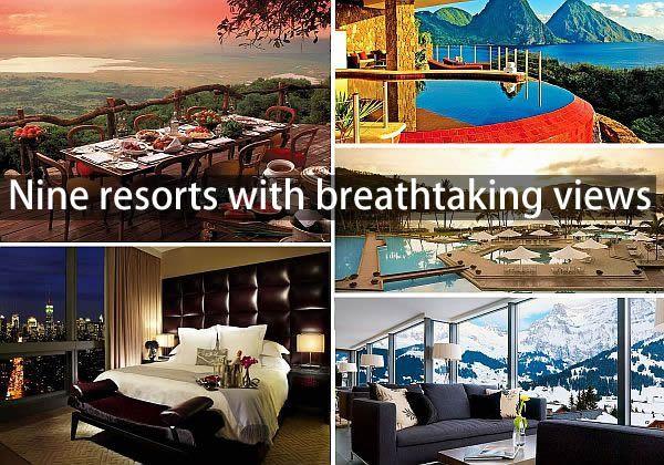 spectacular resort views