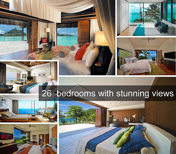 stunning views bedrooms