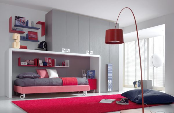 Minimalist bedroom decorating ideas for kids and teenagers for Ideas to decorate my room
