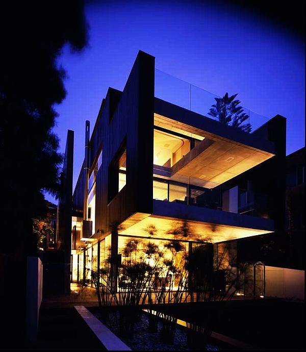 ultra modern beach house design