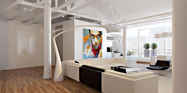 loft apartment in moldova is irresistible