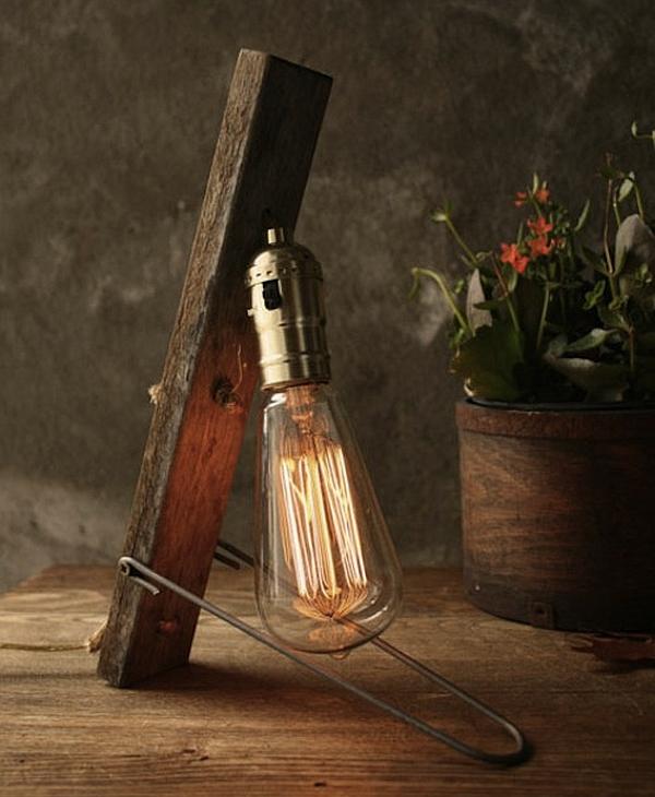 vintage DIY Luke Lamps