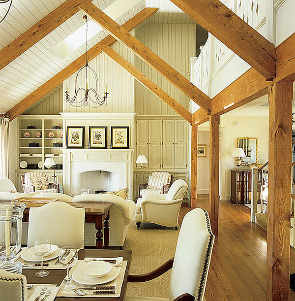 White Cottage Style Interior Decor