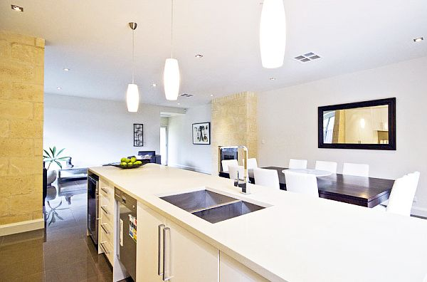 White Kitchen Lighting fluorescent kitchen lighting to brighten your cooking mood