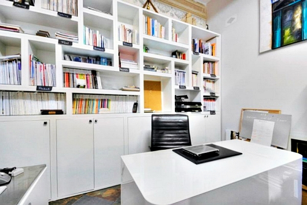20 home office decorating ideas for a cozy workplace for Modern home office design