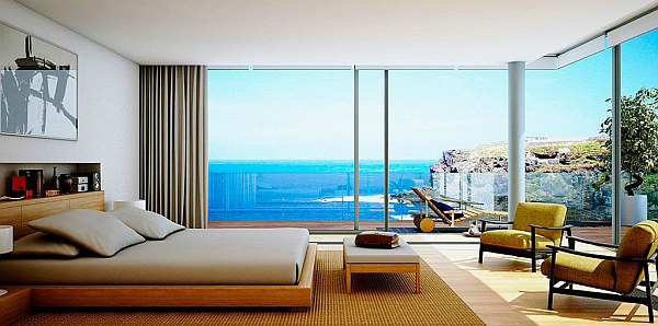 wooden furniture bedroom amazing beach views