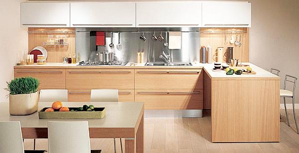 wooden kitchen lighting ideas
