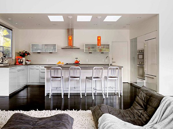 1950S House Pleasing Stylish 1950S House Makeover In Palo Alto Inspiration Design