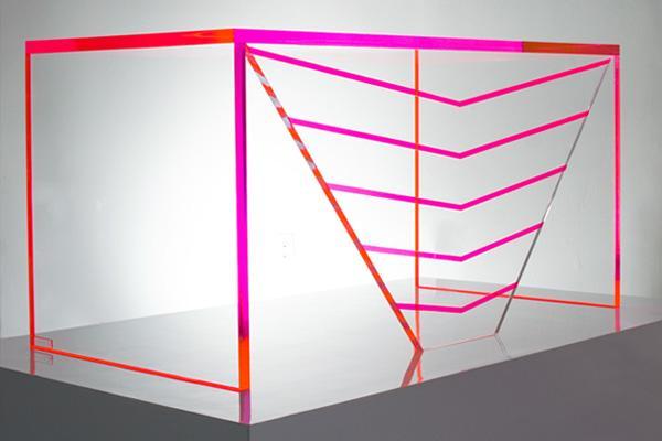 AVF Luminous Acrylic Desk
