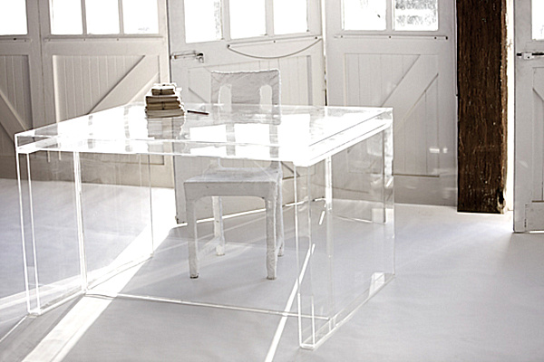 Acrylic Desk from Penny Farthing Design House.png Acrylic Home Office Desks for a Clearly Fabulous Work Space