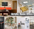Acrylic Home Office Desks