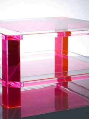 Alexandra von Furstenberg's Plexiglass Furniture (1)
