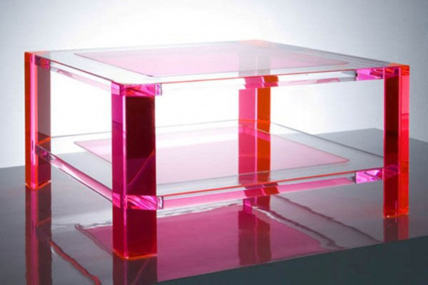 Alexandra von Furstenberg's Plexiglass Furniture 1 Magic Design Of Alexandra von Furstenberg's Acrylic Furniture