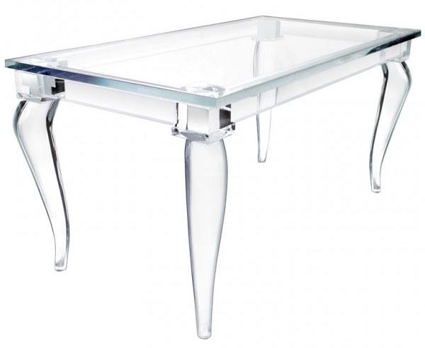 Magic design of alexandra von furstenberg s acrylic furniture