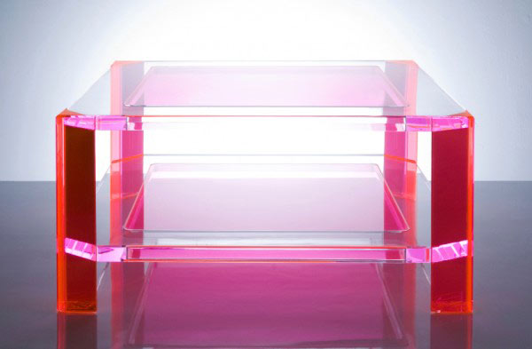 Alexandra von Furstenberg's Plexiglass Furniture 2 Magic Design Of Alexandra von Furstenberg's Acrylic Furniture