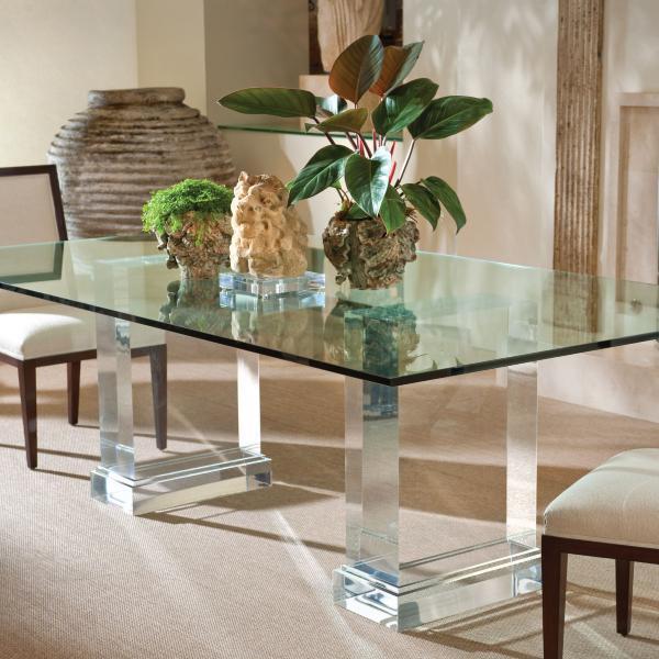 Acrylic And Glass Desks