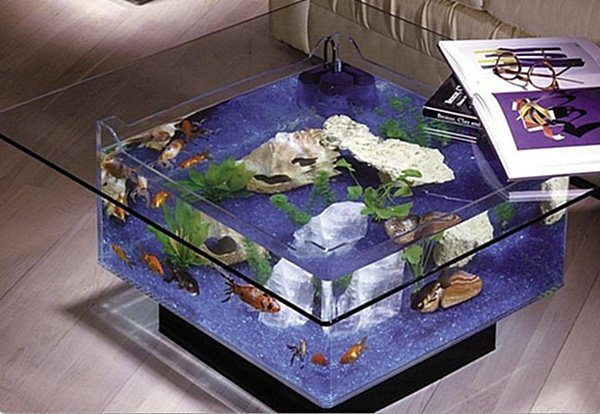 Aquarium coffee table png decoist