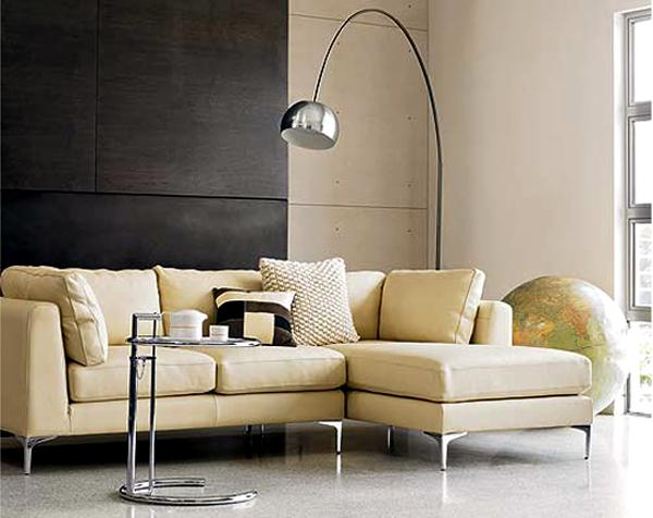 Decorating with chrome furniture - Arco floor lamp reproduction ...
