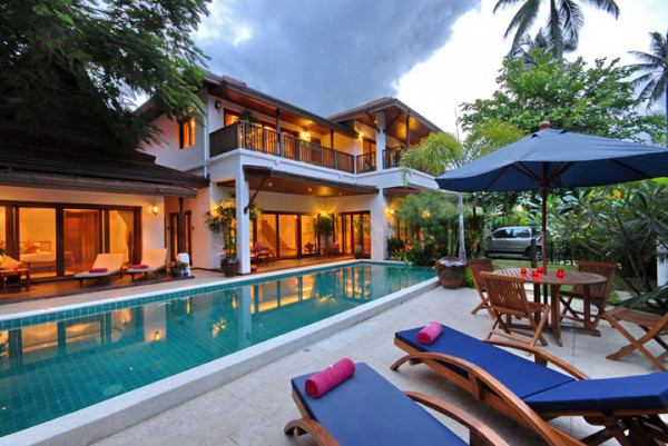 Baan Jasmine 01 600x401 Baan Jasmine Beachside Villa is Ideal for Your Vacations