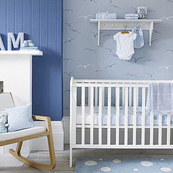 25 modern nursery design ideas for Baby room decorating ideas uk