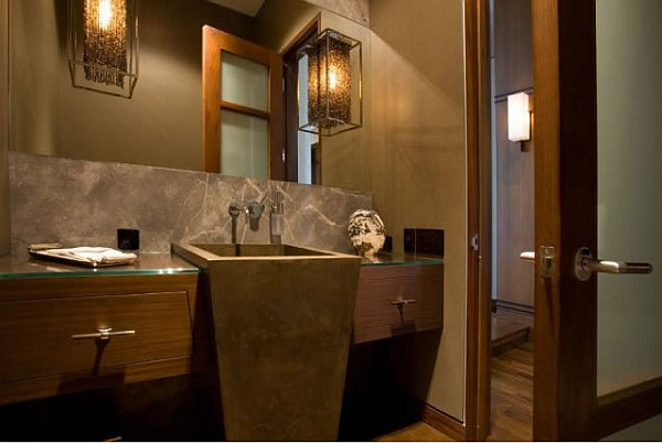 Barker Residence Sun Valley – beautiful bathroom design