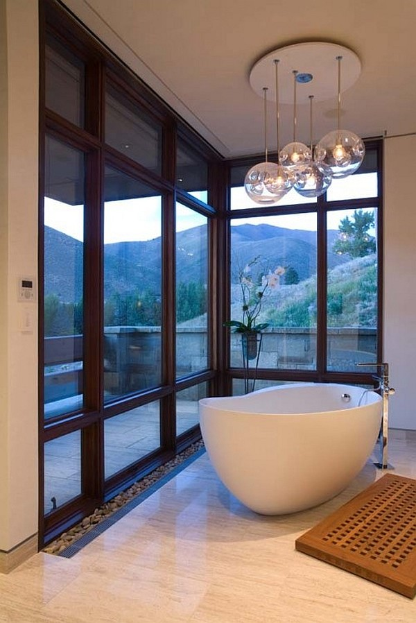 Barker Residence Sun Valley – contemporary bathroom design