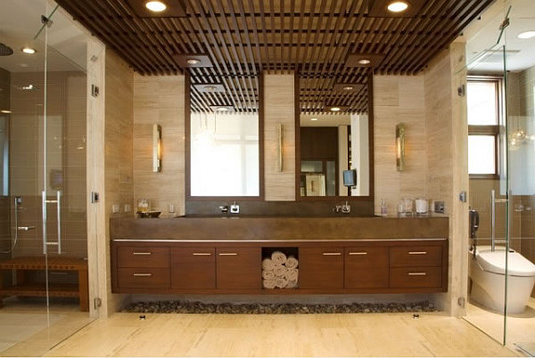 Barker Residence Sun Valley – cozy bathroom furniture design idea