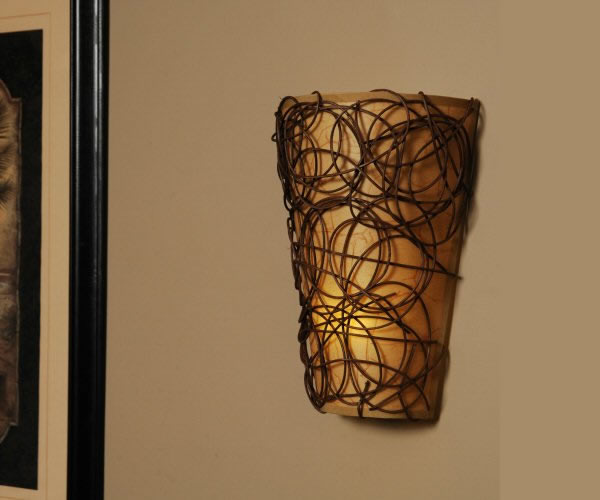 Decorative Battery Operated Wall Lights : 31 Wall Sconces Designs For Dressing Up Your Hallways