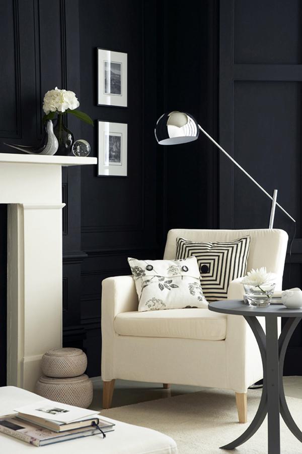 Black Walls Interiors