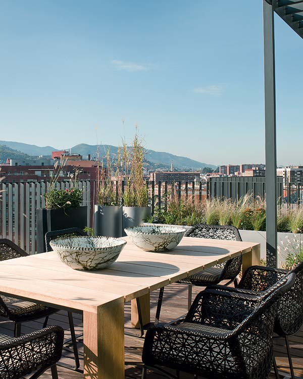 Bright roof terrace apartment 12