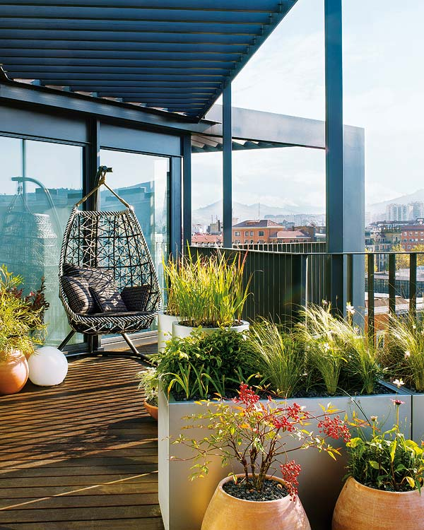 Bright roof terrace apartment 2