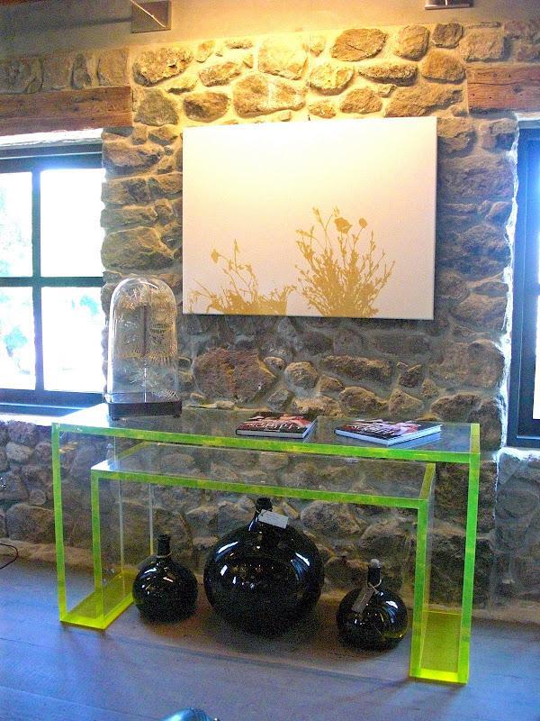 Alexandra Von Furstenberg Acrylic Desks