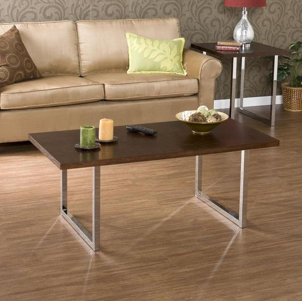 chrome coffee table base 2