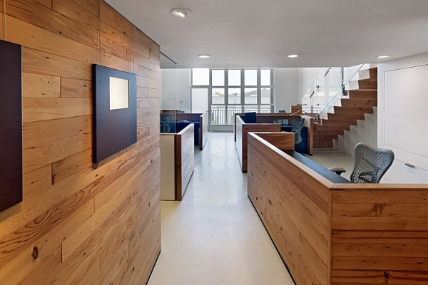 Office space in san francisco eco friendly awe inspiring for Reclaimed wood flooring san francisco