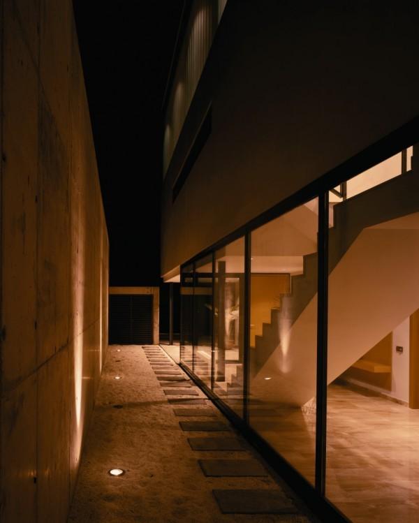 CS House - glass interior - 3