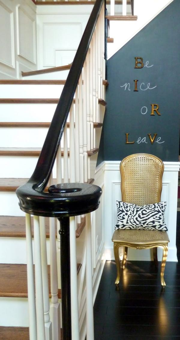 CasaSugar Entryway3 Chalkboard Paint Ideas: When Writing on the Walls Becomes Fun
