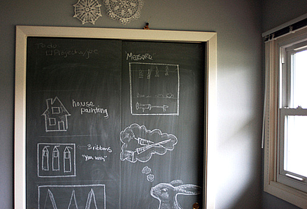 Chalkboard Paint Ideas: When Writing - 122.6KB