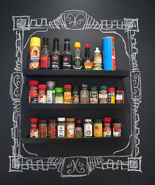 chalkboard paint in the kitchen - Chalkboard Designs Ideas