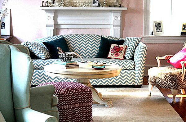 Decorating With Patterned Upholstered Furniture
