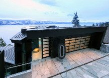 Curved Cliff House by Mark Dziewulski Architects: Romantic to the Core