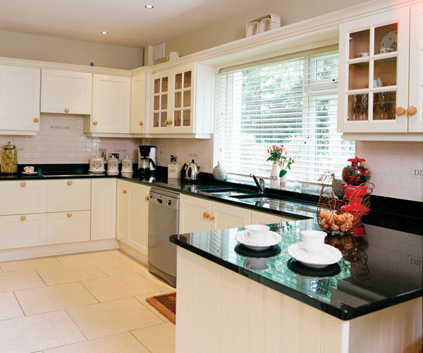 Country Bungalow Ireland white kitchen Irish Countryside Bungalow Excels in Simplicity