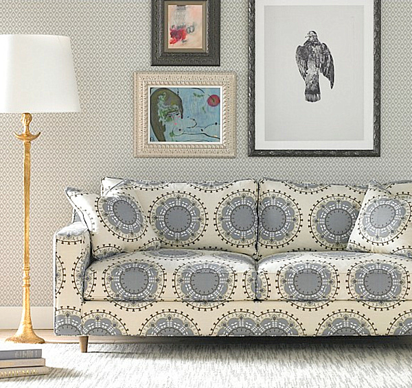 View In Gallery Printed Fabric Sofas L3