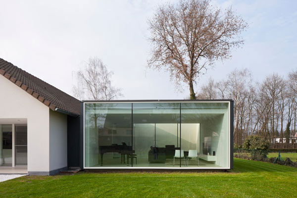 Framework House by Cocoon Architecten 1 Ingeniously Upgraded Single Family Home in Belgium